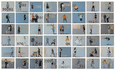 Encontrar la identidad personal en un número, reconocerse en códigos arbitrarios para distinguirse en rasgos vacuos, afiliados a la indefinición.  'Anónimos' es una serie de 60 obras que explora la relación entre las personal reales y su presencia en la escena virtual en que viven sumergidos: anónimos controlados anónimamente.  Óleo sobre lienzo 24x30 Art Gallery, Photo Wall, Frame, Figurative, Artworks, Personal Identity, Art Fair, Oil On Canvas, Rocks