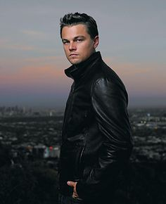 Leonardo DiCaprio. fave male actor of all time. he looks sexy no matter what age.