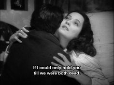 Wuthering Heights deathbed scene. Laurence Olivier and Merle Oberon.