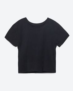 ORGANIC COTTON T-SHIRT-View all-T-SHIRTS-WOMAN-COLLECTION AW16 | ZARA United States