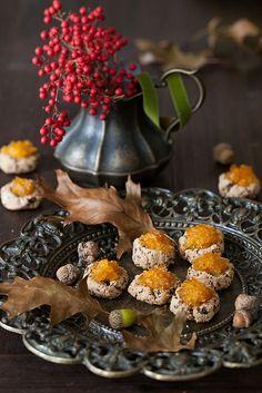 Whole Grain Amaranth Cookies with Pumpkin Jam