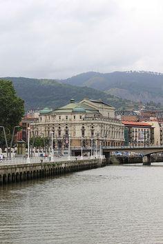 Basque Country, Bizkaia, Bilbao, Arriaga Theater