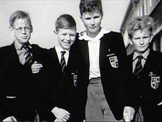 Retronaut - David Bowie at school