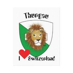 Schweiz  Suisse  Switzerland Thurgau Leinwand Drucke