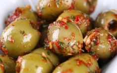 Marinated olives with rosemary, red chili, orange and paprika Recipe by Tyler Florence