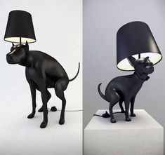 dog lamp, step on the poop to turn the light on and off! Style Parisienne, Dog Jokes, Cool Lamps, Perfect World, Room Accessories, Lamp Light, Lighting Design, Haha, Table Lamp