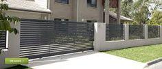 slatted gates and fence
