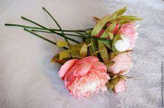 """Мастер-класс """"Пионы из фоамирана"""" - мастер-класс,мастер-класс цветы,цветы"""