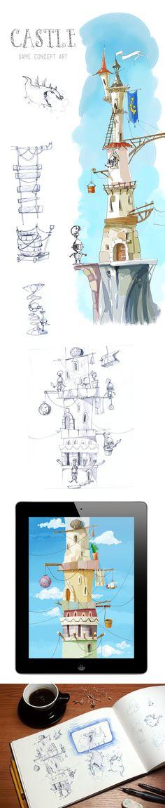 Castle: Concept on Behance