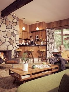 Photo Gallery of Midcentury Modern Living Room. Find ideas and inspiration for Midcentury Modern Living Room to add to your own home. Mid Century Interior Design, Mid-century Interior, Mid Century Modern Design, Modern House Design, Modern Interior Design, Contemporary Interior, Mid Century Modern Living Room, Mid Century Decor, Mid Century House