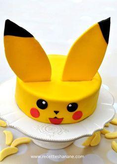 Here is a birthday cake idea that will amaze … – Pastry, cakes, cookies 9th Birthday Parties, Boy Birthday, Happy Birthday, Birthday Cake, Birthday Ideas, Easy Pokemon, Celebration Day, Pokemon Birthday, Cake Ingredients