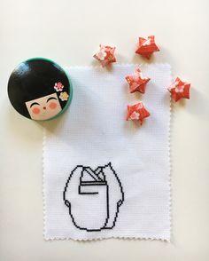 Broderie - Origami - Kokeshi