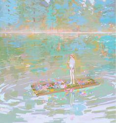 Amei Zhao on Art And Illustration, Illustrations, Kunst Inspo, Art Inspo, Fantasy Kunst, Fantasy Art, Anime Kunst, Anime Art, Pretty Art