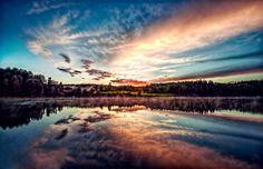 Sunset, Sweden