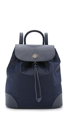 838d6fefa1d9 Tory Burch Dena Nylon Backpack, Normandy Blue - http://todays-shopping