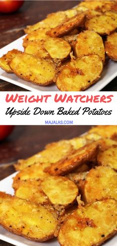 Upside Down Baked Potatoes // #WeightWatcher #Healthy #SkinnyRecipes #Recipes #Smartpoints #Baked_Potatoes #LowCarb #WeigthWatchersRecipes #weightwatchersdesserts