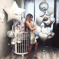 New wedding decorations silver white bouquets Ideas Balloon Decorations, Birthday Party Decorations, Wedding Decorations, Yellow Wedding Flowers, Bridesmaid Flowers, Birthday Bunting, Birthday Balloons, Happy Birthday Me, Baby Birthday