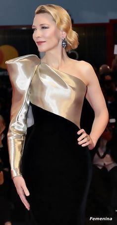 Cate Blanchett in Armani Privé -Venice Film Festival 2018 Elegant Dresses, Nice Dresses, Prom Dresses, Formal Dresses, Wedding Dresses, Evening Dresses For Weddings, Evening Gowns, Couture Fashion, Fashion Show