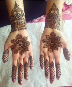 Gorgeous mandala and bracelet/cuff designs by Sonia's Henna Art.