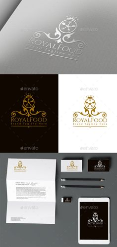 Royal Food — Vector EPS #jewelry #royal • Available here → https://graphicriver.net/item/royal-food/10305662?ref=pxcr