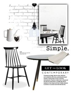 Make it Simple by cruzeirodotejo on Polyvore featuring interior, interiors, interior design, home, home decor, interior decorating, House Doctor, Teroforma, CO and Home