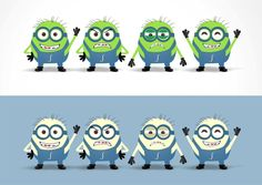 Create a minion character for a hot internet startup! by hOOPed creative