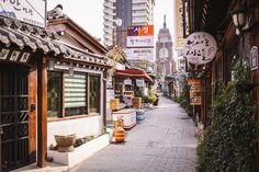 Insadong Back Alley, Seoul |