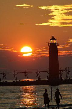 Grand Haven Lighthouse by Pure Michigan, via Flickr  #puremichigan