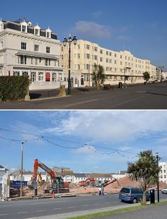 Worthing's art deco Beach Hotel - now you see it...... | Flickr - Photo Sharing!