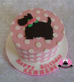 Puppy Love - Cake by Cakes ROCK!!! - CakesDecor