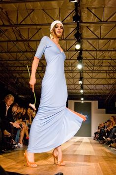 #StanaKatic at Portland Fashion Week (2007)