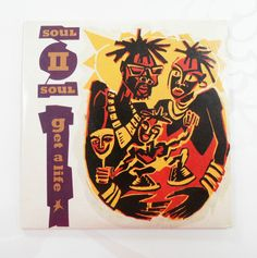 Soul II Soul Get a Life 4 Track Mini Three Inch CD Card Sleeve Vintage Music