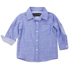 Sovereign Code™ Wyoming Long Sleeve Shirt in Blue - buybuyBaby.com