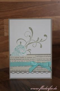Stampin' Up! Card with Papaya Collage and Everything Eleanore