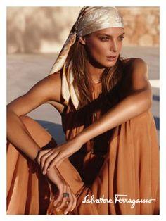 Daria for Salvatore Ferragamo - Polish born, Ukranian-Canadian model
