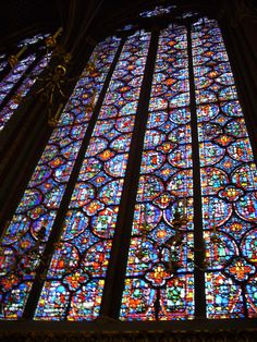 Sainte Chapelle - Paris.  Enjoyed an evening concert of classical music performed by a string sextet: Magnificient! Photo by J.M. Bell. ★