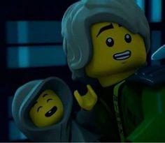 Awwwws Dad Lloyd Lego Ninjago Lloyd, Lego Ninjago Movie, Ninjago Memes, Lego Stuff, Toothless, Akita, Legos, Cartoon Network, Favorite Tv Shows