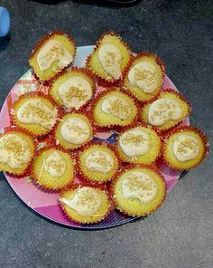 Basis cupcakes met vanillie chocolade glazuur