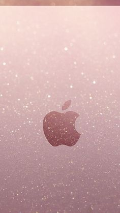 Apple Wallpaper Iphone, Cellphone Wallpaper, Apple Iphone, Iphone Wallpapers, Apple Logo, Homescreen, Vector Free, Sparkle, Girly