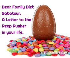 I'm back at Weight Watchers and in honor of Easter – a family holiday where it's quite easy to be thrown from your plan – the subject this week was handling people who are trying to sabotage your efforts to improve yourhealth. MY reasons for Weight Watchers are different than yours, even different than when …