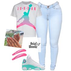 Jordan Outfits For Girls, Baddie Outfits Casual, Cute Lazy Outfits, Swag Outfits For Girls, Teenage Girl Outfits, Cute Swag Outfits, Girls Fashion Clothes, Teen Fashion Outfits, Dope Outfits