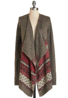 Homemade You Look Cardigan   Mod Retro Vintage Vests   ModCloth.com