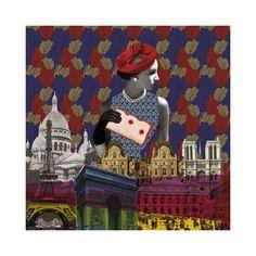Vintage City III by Emilie Ramon