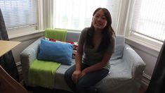 How to Make a Sofa Cover  *very easy & great tutorial*