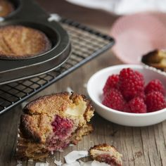 Low Carb Raspberry & Coconut Muffins