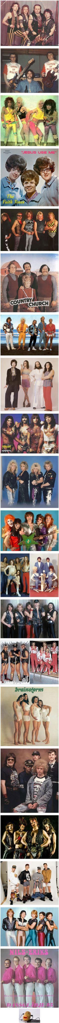 Weirdest Band Photos Ever