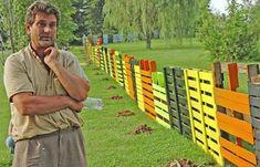 NapadyNavody.sk | 16 nápadov na oplotenia z drevených paliet