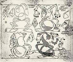 Spider-The Cobweb Hotel 1930s Cartoons, Old School Cartoons, Classic Cartoons, Character Model Sheet, Character Drawing, Cartoon Drawing Tutorial, Cartoon Drawings, Toon Cartoon, Character Design Animation