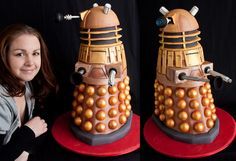 If this isn't the ultimate nerd cake I don't know what is.  And I say that absolutely wanting one.