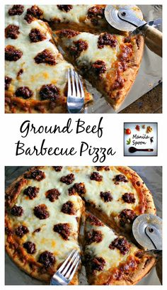 Takes but a few minutes to make this super tasty pizza topping - barbecued ground beef. Tried and tested crowd-pleaser. Freezable - assuming there are left-overs. :)